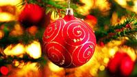 10 красивых обоев новогодних шаров и подарков