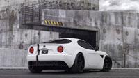 Белая Alfa Romeo 8C (5шт.)