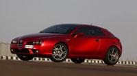 Красная Alfa Romeo Brera на рабочий стол (5шт.)