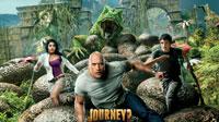 Обои фильма Путешествие 2: Таинственный остров (5шт.)