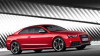 Сборка обоев красной Audi RS 5 (10шт.)
