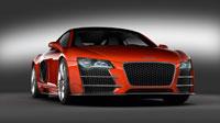 Обои красной Audi R8 (5шт.)