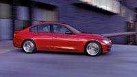 Обои красной BMW 335i Sedan Sport (10шт.)