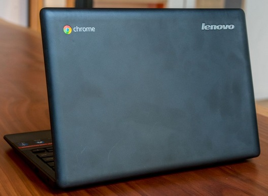 Ноутбук Lenovo IdeaPad 100S Chromebook сзади