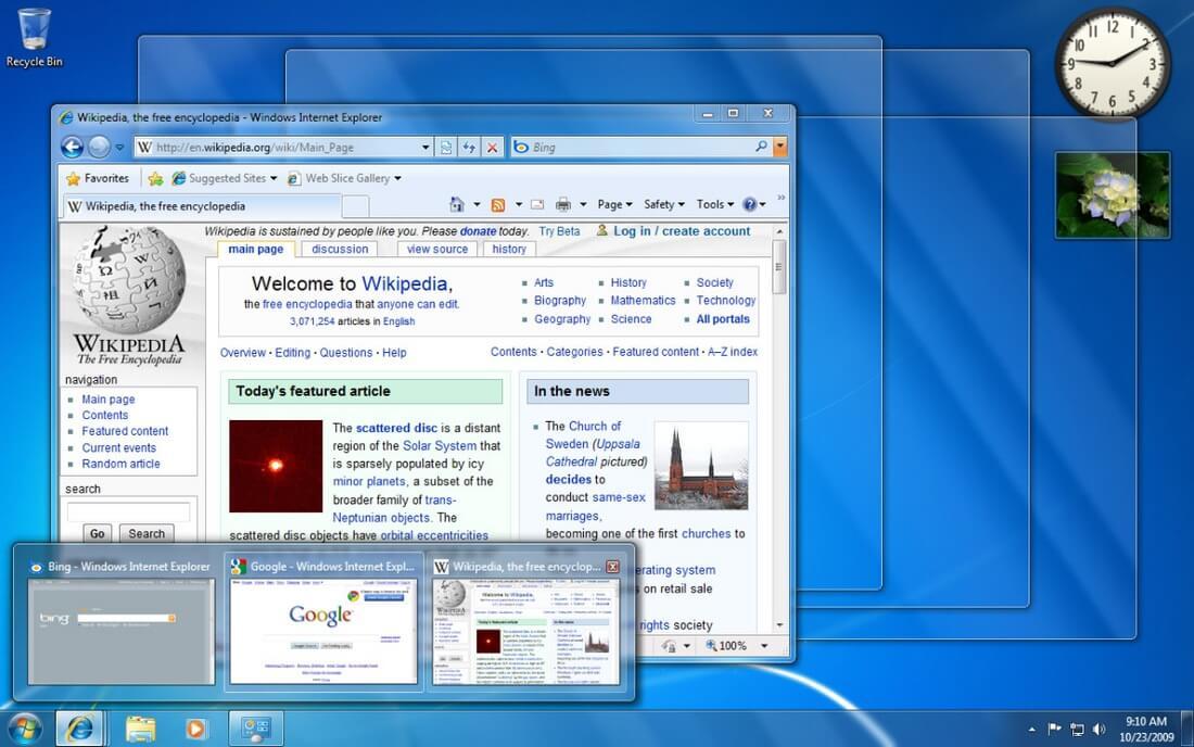 скачать windows 10 aero для windows 7 бесплатно