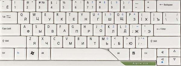 Как сделать клавишу на клавиатуре ноутбука